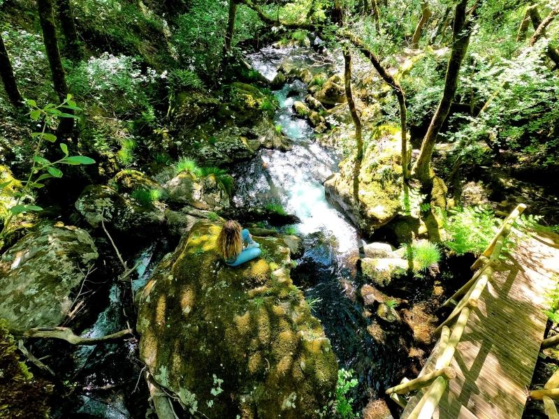 Cascadas y molinos de Parafita y Raxoi