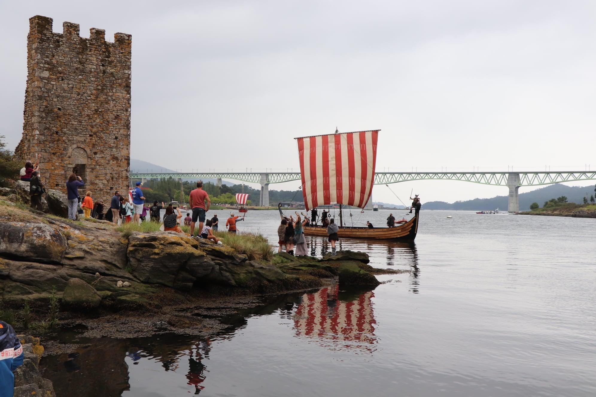 Festa vikinga de Catoira